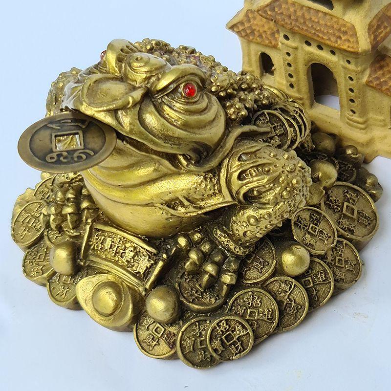 Thiềm thừ tài lộc đồng vàng
