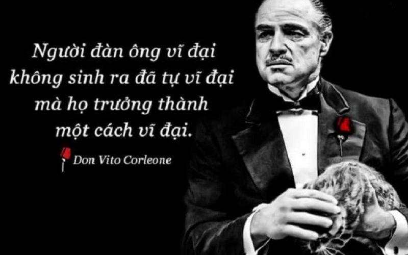 Những bài học cuộc sống thấm từ bộ phim Bố già (The Godfather)