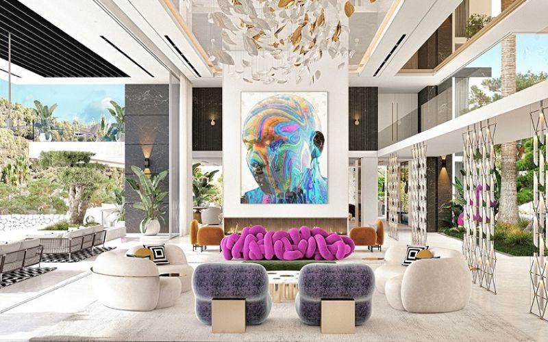 Ngôi nhà đặc biệt với thiết kế nội thất đầy tính nghệ thuật
