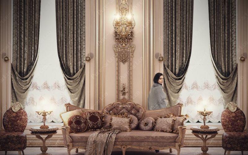 Nội thất sang trọng lấy cảm hứng thiết kế từ Phong cách thời Louis