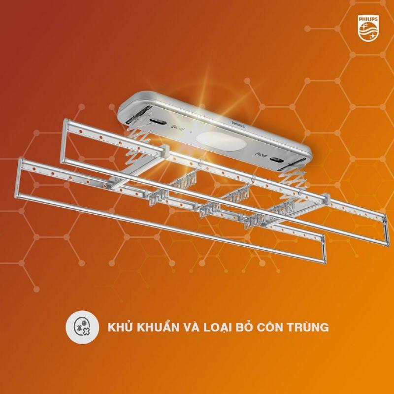 Giàn Phơi Thông Minh Philips SDR701