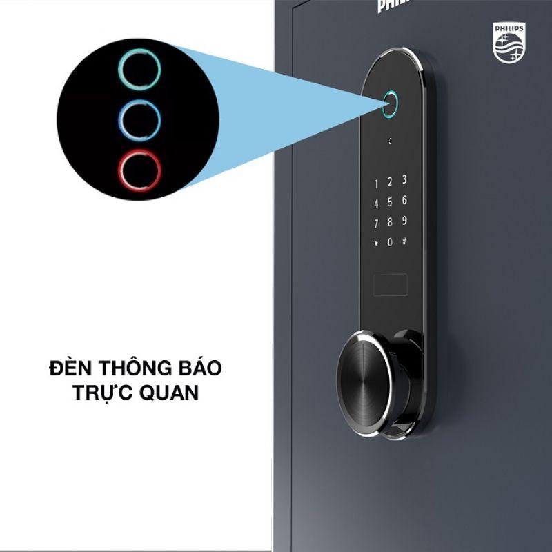 Két Sắt Vân Tay Philips SBX601
