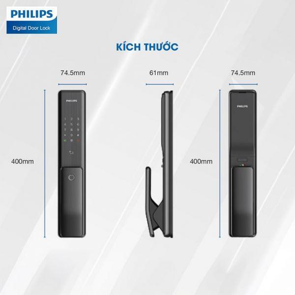 Khoá Cửa Vân Tay Philips Alpha