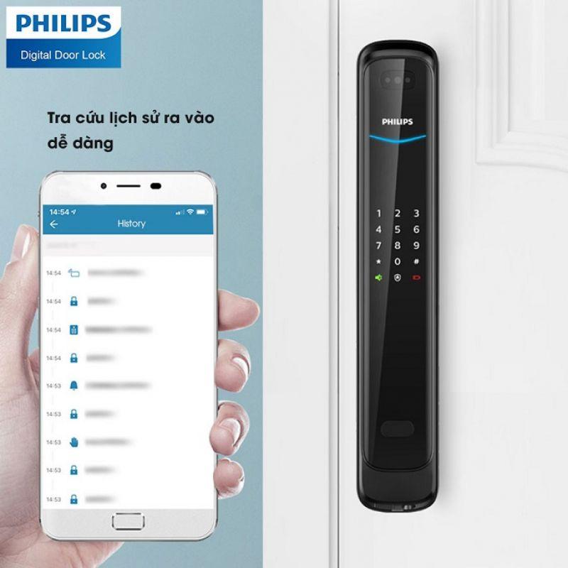 Khoá Khuôn Mặt Philips DDL702