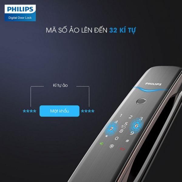 Khoá Vân Tay Philips DDL702E