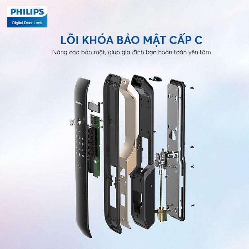 Khoá Cửa Vân Tay Philips 6100