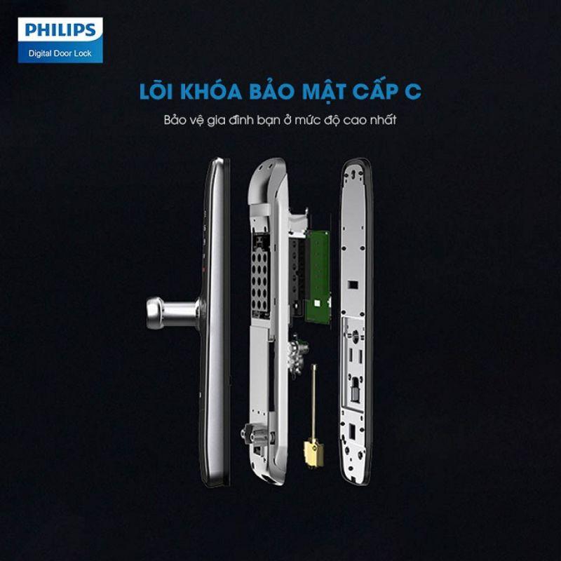 Khoá Cửa Vân Tay Philips 7300