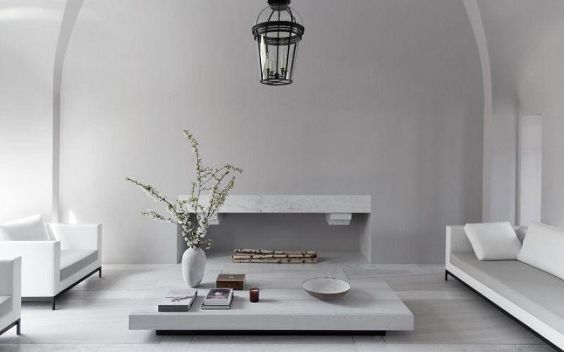 Hai kiệt tác đơn sắc của thiết kế nội thất hiện đại cao cấp
