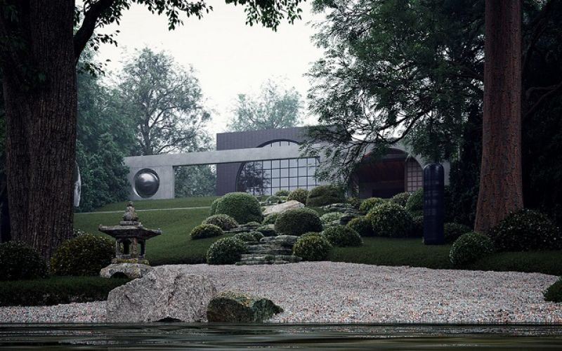 Vẻ đẹp trong mắt của kẻ si tình - Ngôi nhà vườn nhật bản tuyệt đẹp