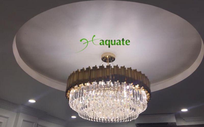Đèn chùm pha lê làm cho ngôi nhà thêm lung linh và sang trọng