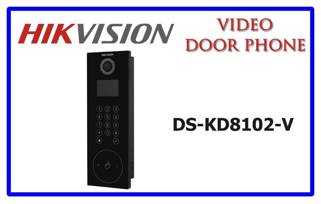 Nút chuông cửa camera DS - KD 8102 V