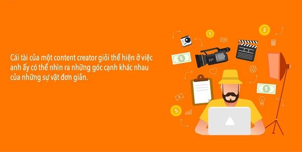kỹ năng sáng tạo của content