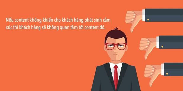 content hay chạm đến khách hàng là content thành công
