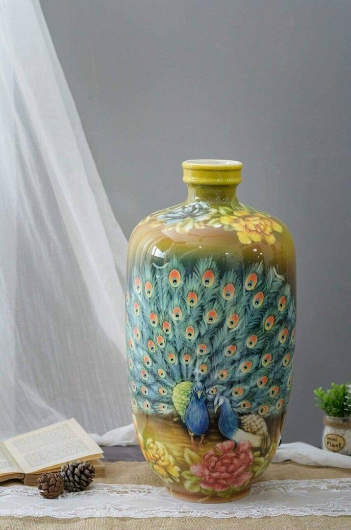 Binh gom su ve 3d hoa