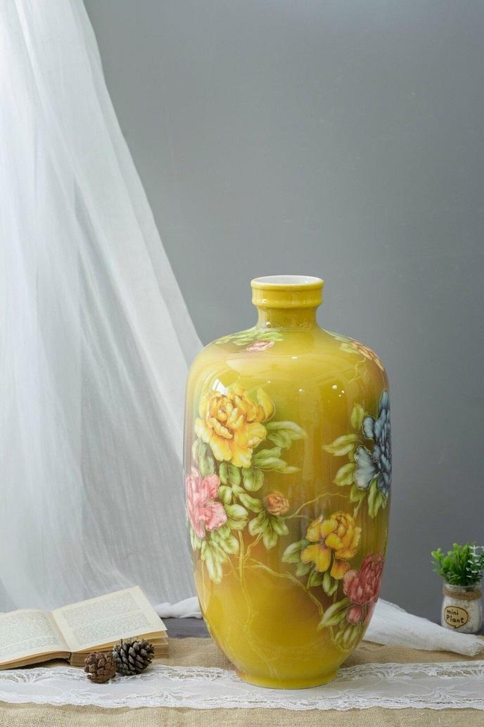 Binh su ve hoa 3d