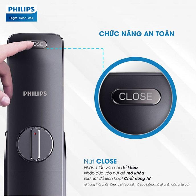 Khoa cua an toan Philips 6100