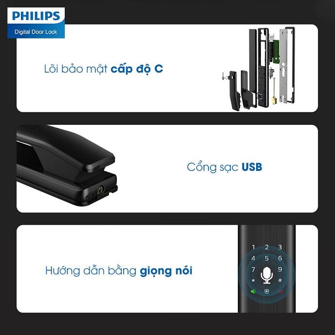 Khoa cua an toan Philips Alpha
