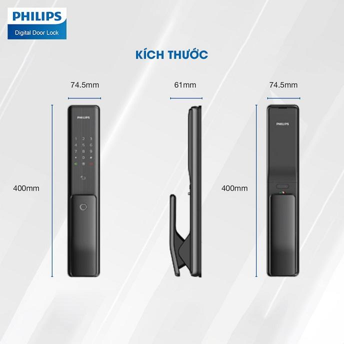 Khoa cua cao cap Philips Alpha
