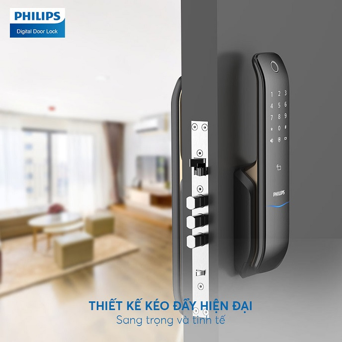 Khoa cua thong minh Philips 6100