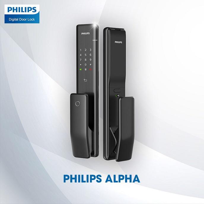 Khoa cua thong minh Philips Alpha