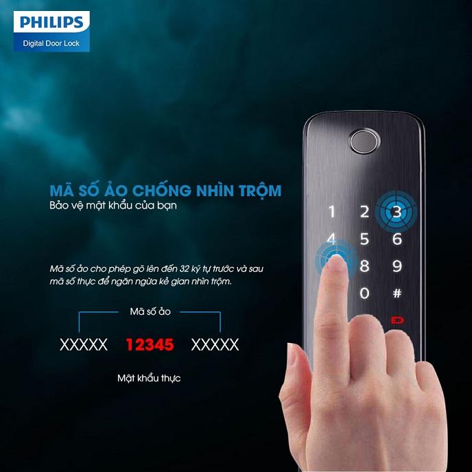 Khoa thong minh Philips 6100