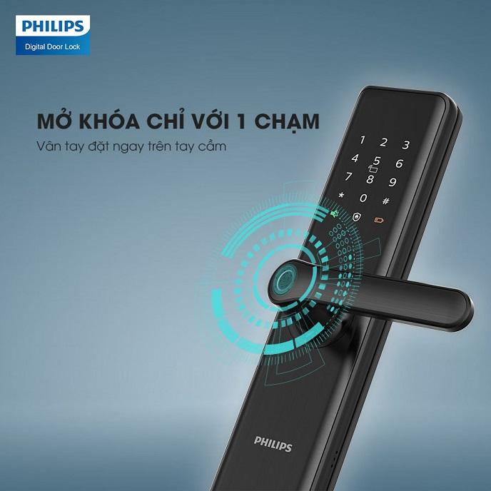 Tinh nang cua khoa cua Philips 7300