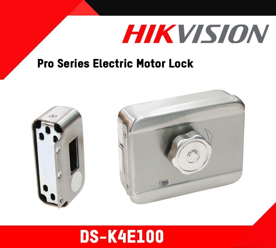 Khoá điện ngoài trời DS - K4E100